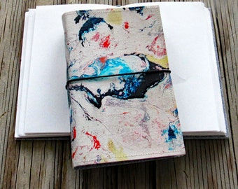 Flow Journal - original art cover for travel vacation life plan journaling - tremundo