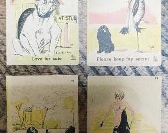 Saucy Miniature Joke Cards