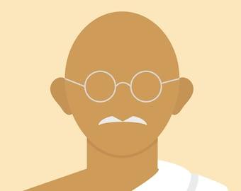Minimalist Gandhi