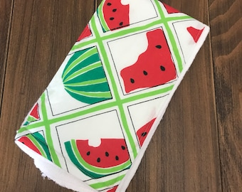 Watermelons Burpcloth