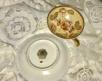 Bavaria Teacup and Saucer Miniture,