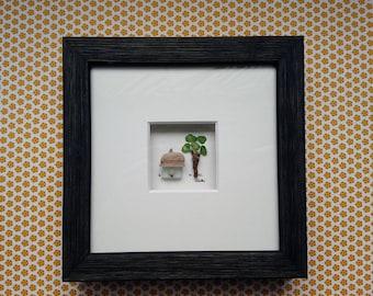 15 x 15 cm Libellei Stone art House