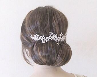 Bridal hair comb, wedding hair comb, bridal hair vine,wedding hair piece, bridal hair piece,bridal hair accessory, crystal hair vine