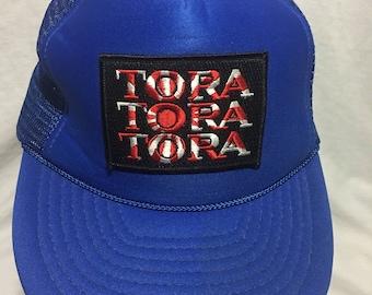 Tora Tora Tora Band Trucker Hat Blue Mesh