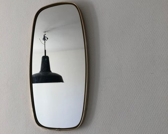 Mirror vintage 1960 46x24cm