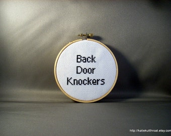 Back Door Knockers