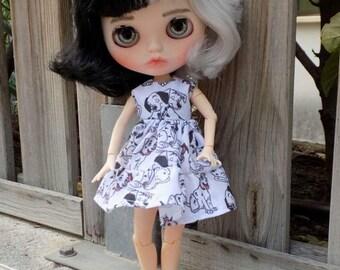 Ooak Blythe Custom Baby Cruella de Ville