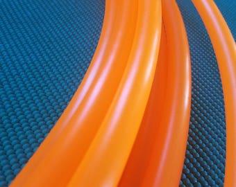 "Fluorescent Orange 5/8"" Custom Polypro Hoop"