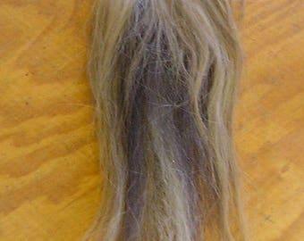 White/Black/Flaxen Horse Tail