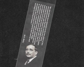 H.G. Wells Bookmark - The War of the Worlds