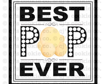 Father's Day - Best Pop Ever Printable Tags