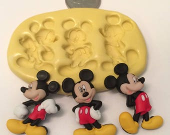 Mouse 3pc Set Silicone Mold