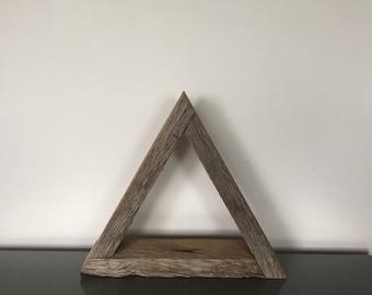Triangle Shelf, Stackable Shelf, Geometric Shelf