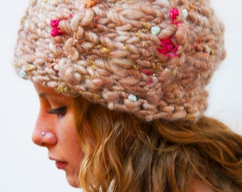 Pincushion Hat - hand knitting pattern PDF