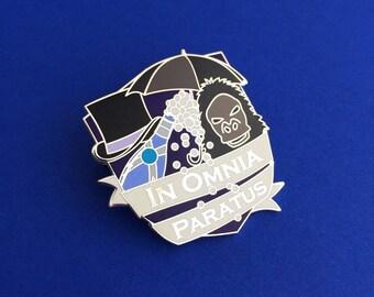 In Omnia Paratus - The Life and Death Brigade Enamel Pin - Gilmore Girls Pin Badge