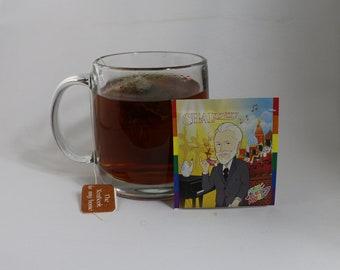 ChaiKovsky : Chai , 20 foil wrapped Tea bags (LGBQTEA Series).
