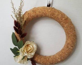 Rustic Cork Wreath