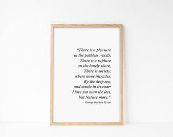 Nature Print, Nature Lover, Nature Printable, Art for Office, Gift For Nature Lover, Nature Quote, Mountains Are Calling, Office Art