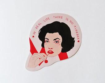 Audrey / Twin peaks - sticker