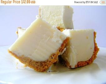MÉGA vente Julie de Fudge - pur au fromage avec croûte de biscuits Graham - plus de la moitié livre