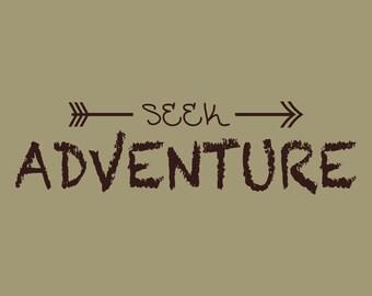 Seek Adventure Wall Decal