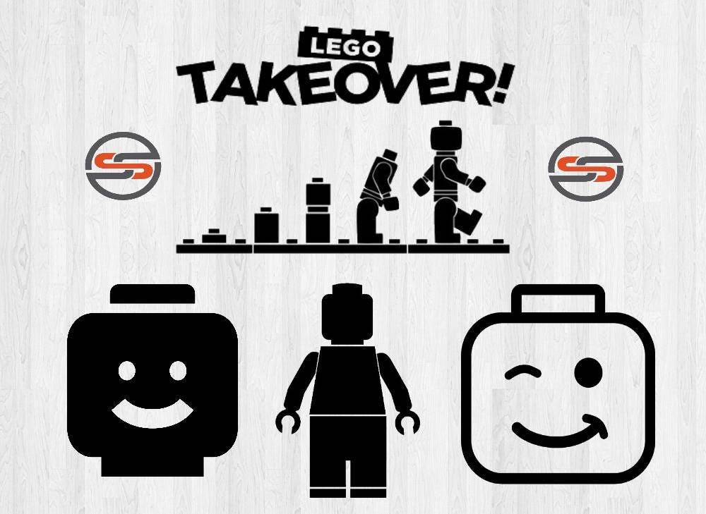 Download Lego Man SVG Legos Lego Head DXF Lego Bricks SVG-Cutting