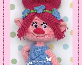 Poppy -  Amigurumi Crochet Pattern by Maria Amelina