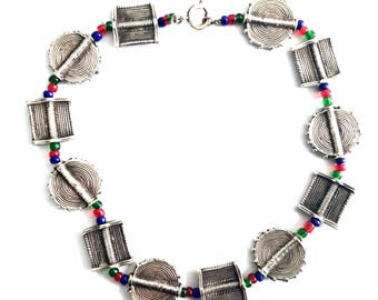 African Tribal short necklace