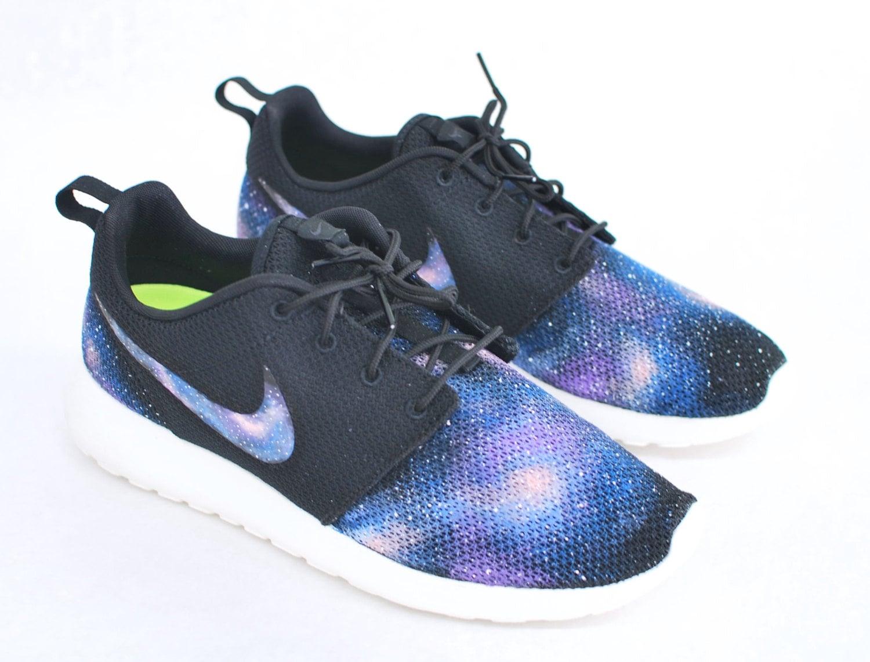 Custom Galaxy Nike Roshe Run Hand Painted Blue Galaxy on