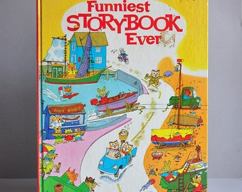 "Over-sized ""Funniest Story Book Ever"" by Richard Scarry"