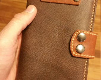 Small Leather moleskin notebook cover