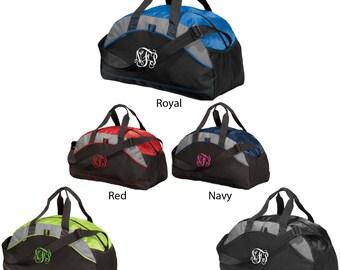 Embroidered Monogram Duffle Bag, Monogram Duffle Bag, Embroidered Duffle Bag, Duffle Bag