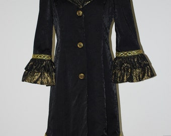 Fantasy Coat Gold small