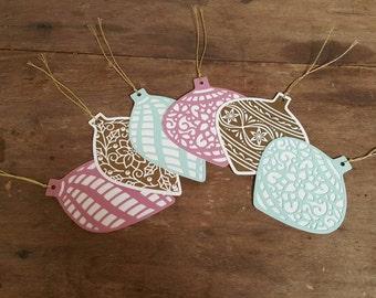 Christmas tags - set of 6