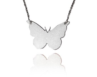 Delicate butterfly necklace sterling silver butterfly necklace butterfly wings necklace butterfly sterling silver necklace butterfly pendant