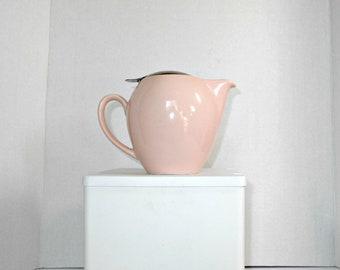 Pink Bee House Teapot,Bee House Teapot,Pink Teapot,Ceramic Pink Teapot,Made in Japan Pink Teapot,Teapot by Bee House,Pale Pink Teapot,Teapot