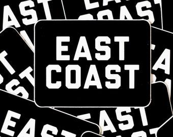 East Coast Sticker