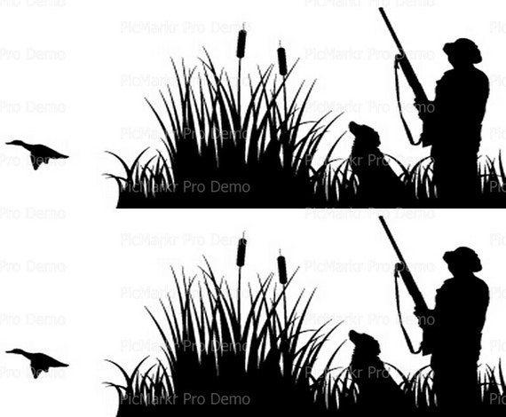 Duck Hunting Designer Strips - Edible Cake Side Toppers- Decorate The Sides of Your Cake! - D20195