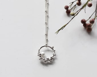 Bubble & Pearl Necklace