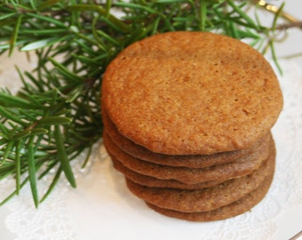 Rosemary Cookies (TWO DOZEN)