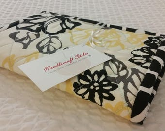 """Custom Order 9x13"""" Quilted Hot Pad Set (2) 