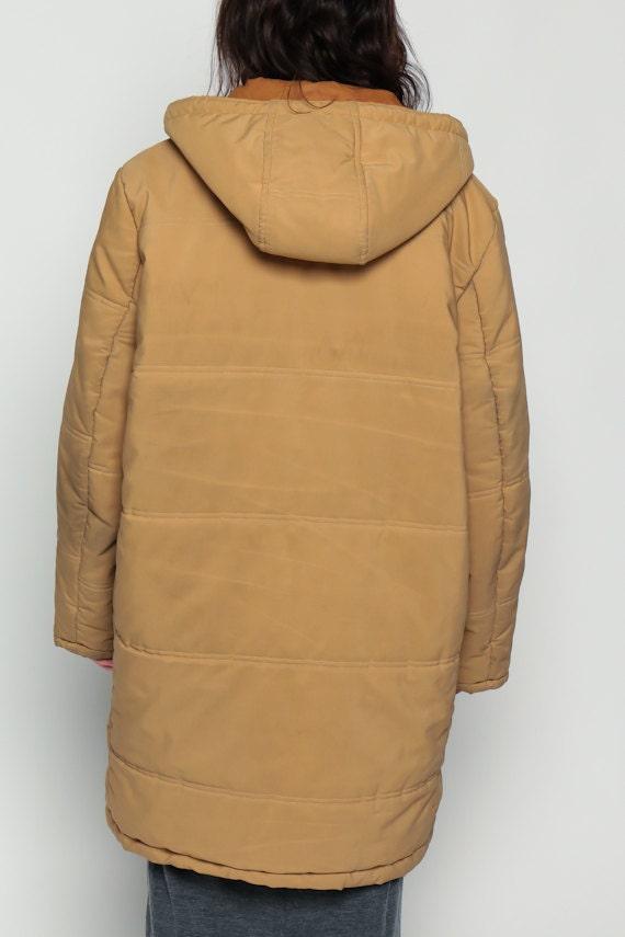 Duffle Coat 70s Jacket Toggle HOODED Clasp 80s Hood Vintage