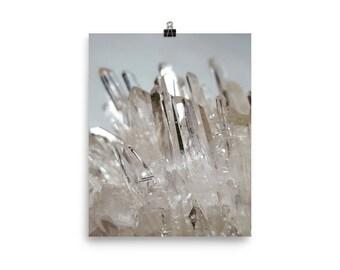 Quartz crystal Poster