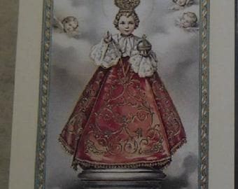 Holy child Jesus 11.5 cm x 6,5 cm picture