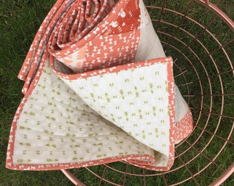 Seeing Double Baby Quilt