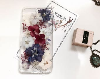 YYL Pressed flower phone case