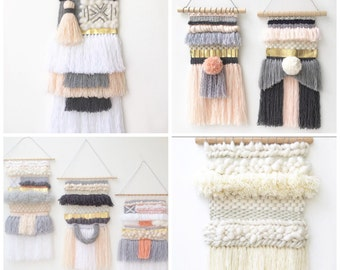 CUSTOM WEAVING // design your own weaving // free shipping in Australia