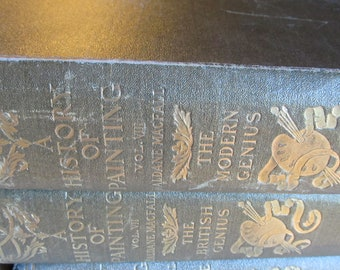 HISTORY OF PAINTING, A. 8 Volumes, Complete by Haldane MacFall