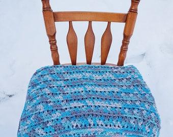 Ready! * Wool baby blanket