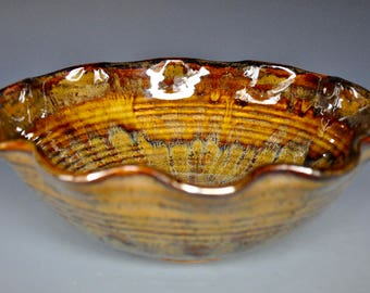 Ceramic Pottery Bowl Serving Bowl Salad Bowl A